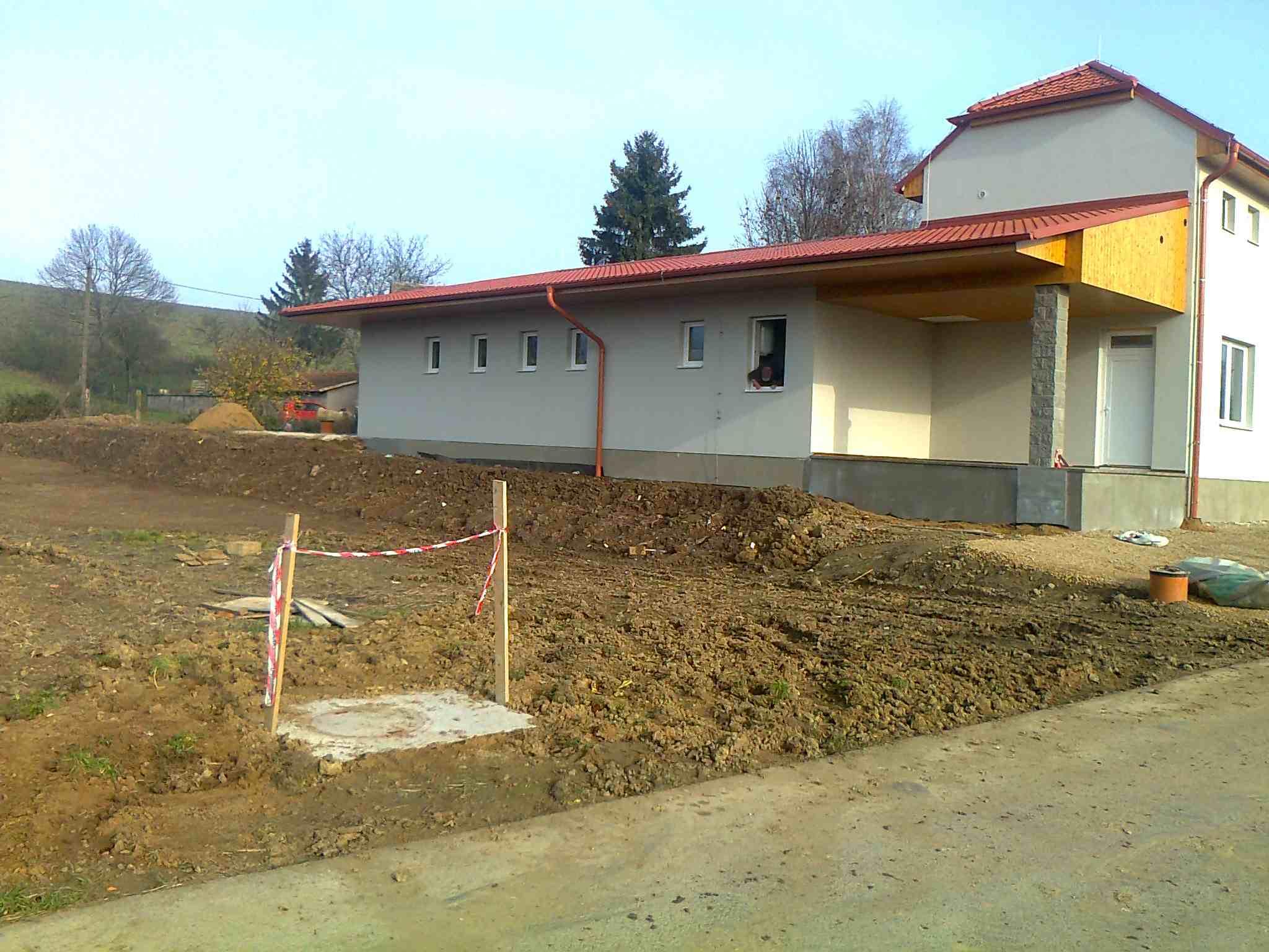 Obec_Malínky_-_přístavba_společenského_domu_Malínka
